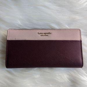 Kate Spade Large Slim Bifold Wallet